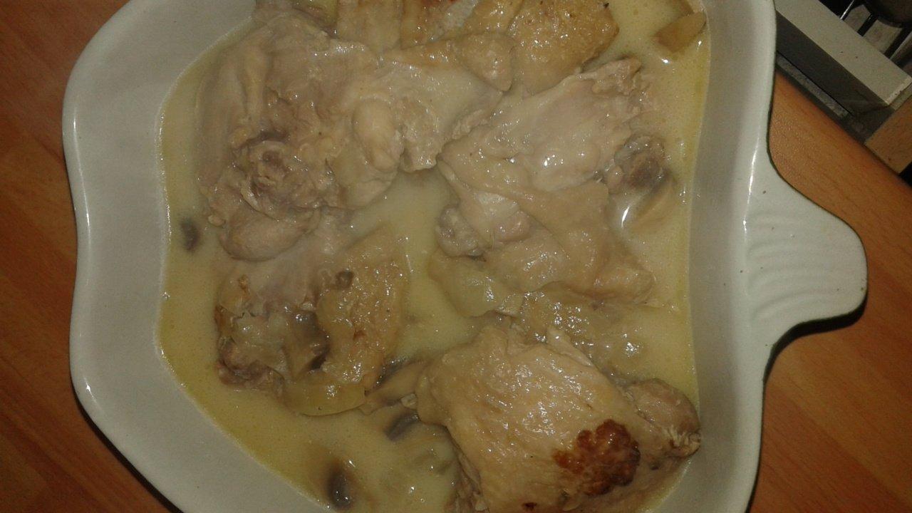 Recette cuisses de poulet aux champignons au cookeo cookeo mania - Comment cuisiner des cuisses de poulet ...