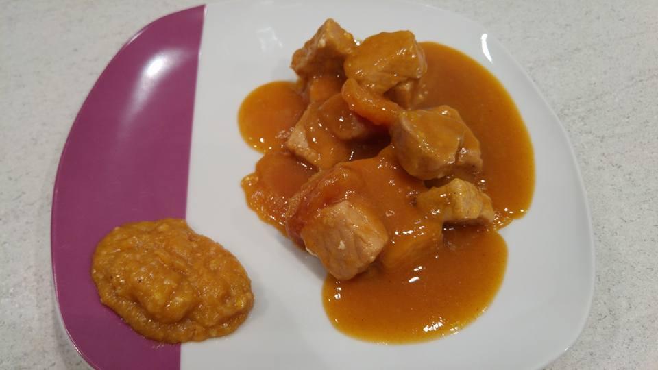 Recette saut de porc aux abricots au cookeo cookeo mania - Cuisiner un saute de porc ...