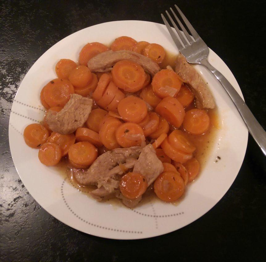 Saut de veau aux carottes cookeo mania cookeo mania - Cookeo cuisson sous pression ...
