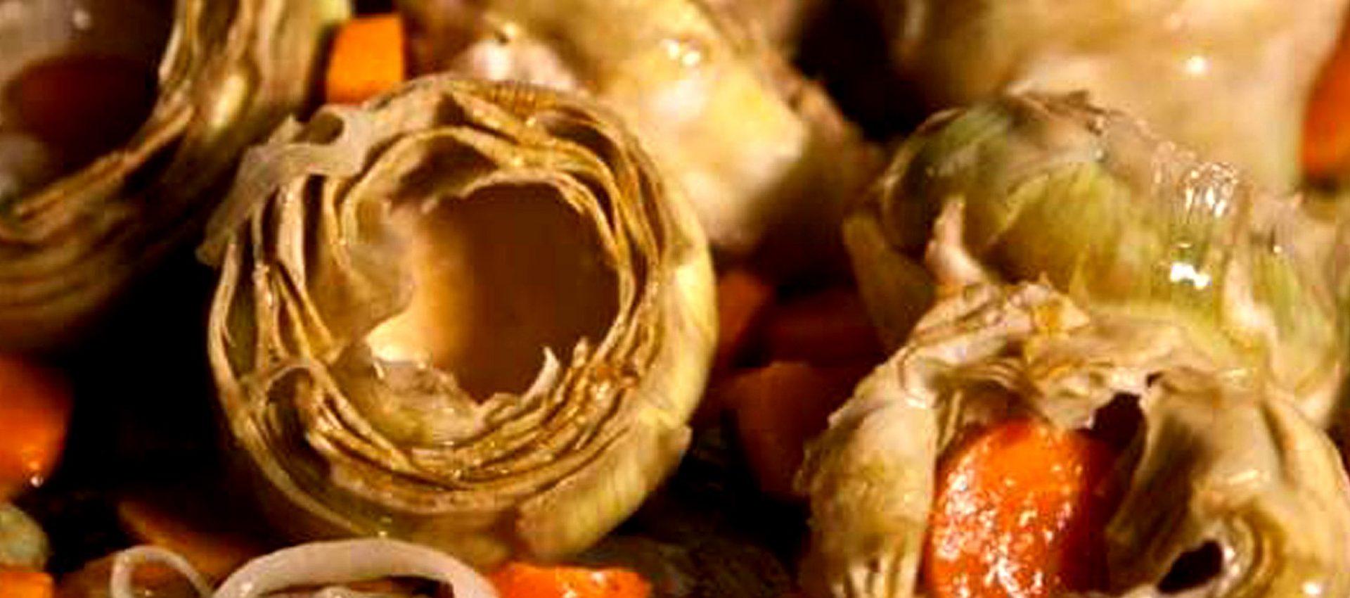 Artichauts en barigoule au cookeo