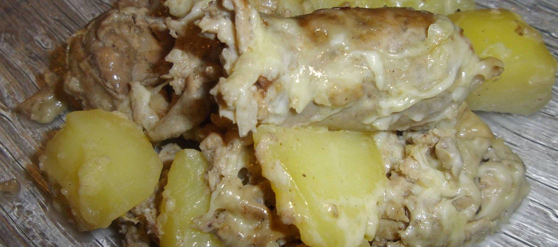 Recette andouillettes et pommes de terre au cookeo - Cuisiner des andouillettes ...