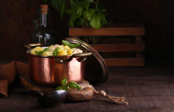 Agneau aux légumes de printemps au cookeo