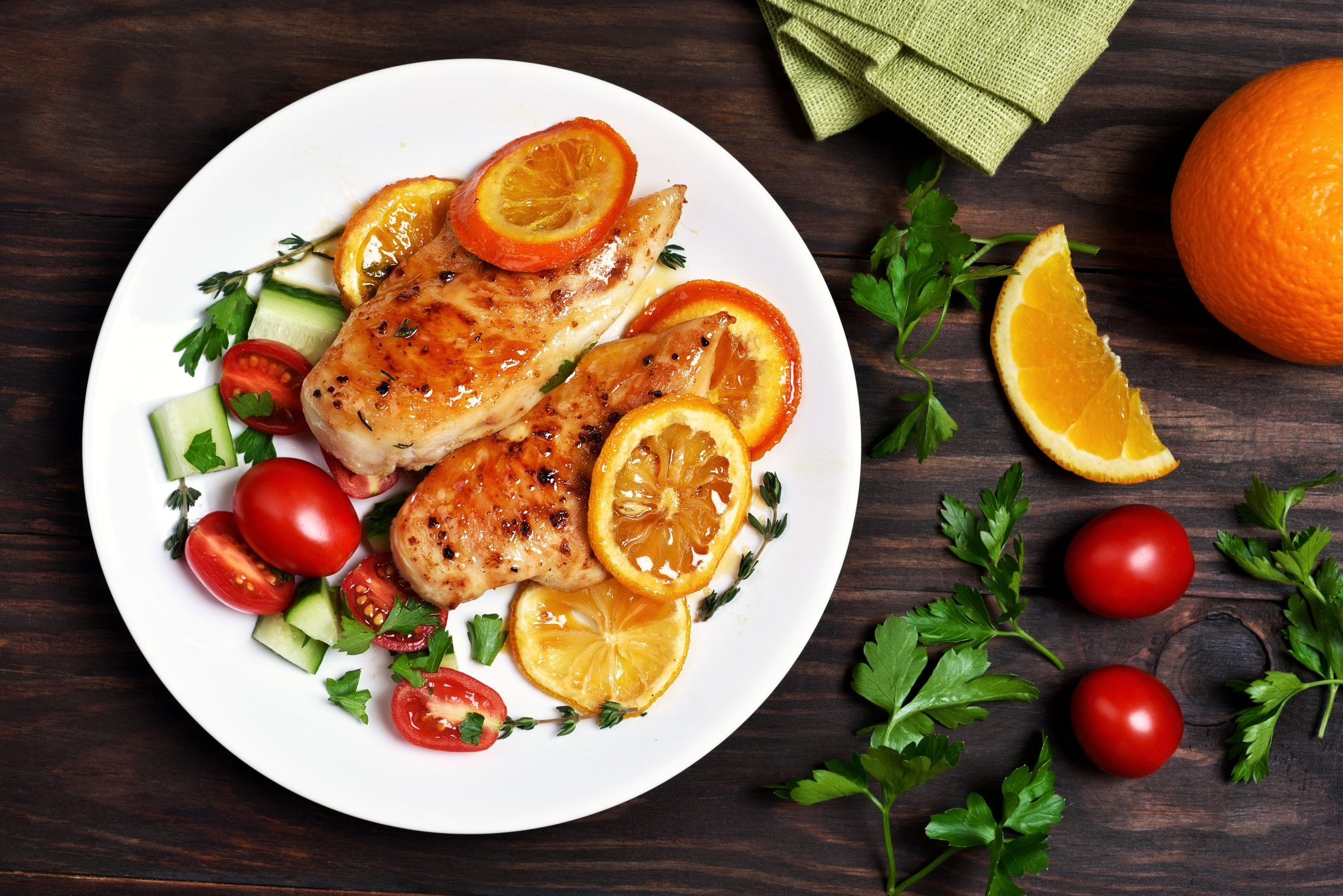 Aiguillettes de poulet à l'orange ww au cookeo - Cookeo Mania