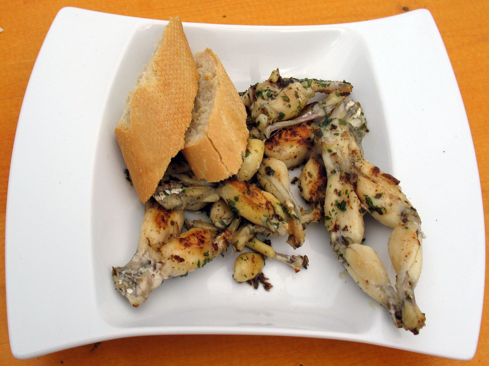 Recette cuisses de grenouilles au cookeo cookeo mania - Cuisiner cuisses de grenouilles surgelees ...