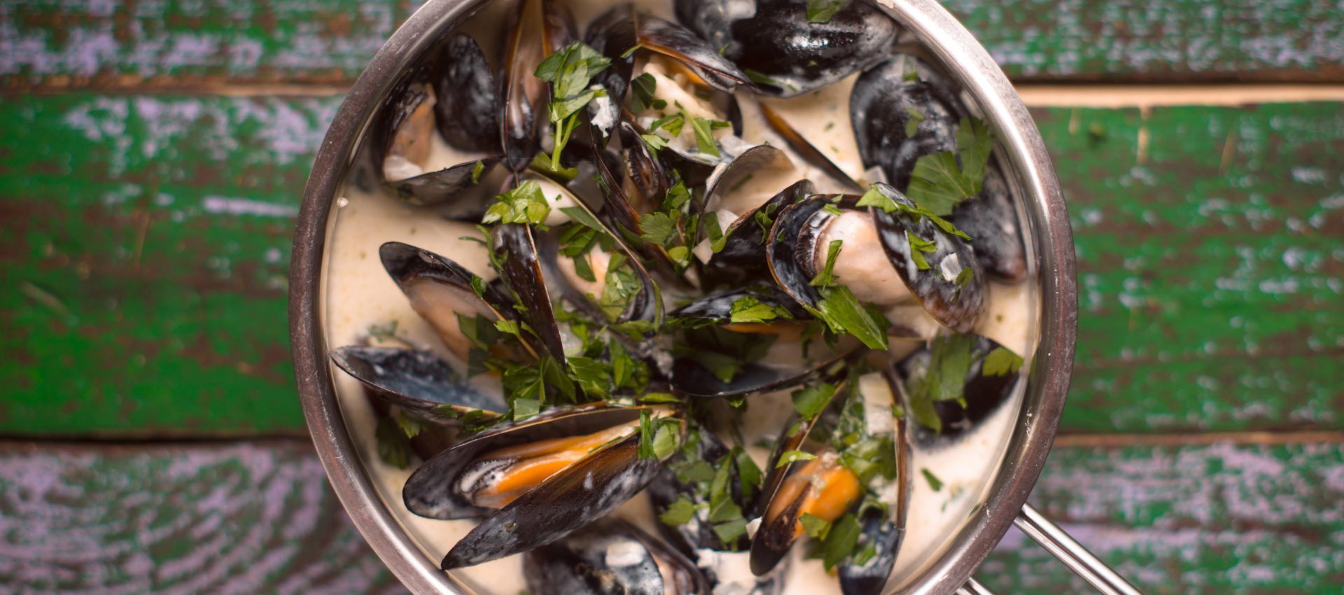 Moules au roquefort au cookeo