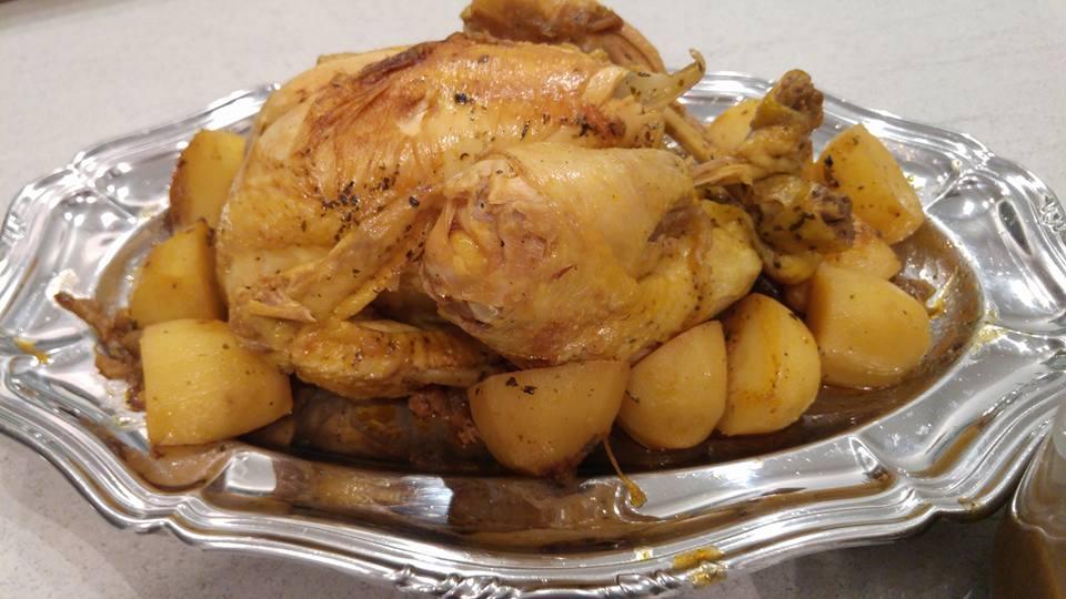 Recette poulet entier au cookeo cookeo mania - Cuisiner poulet entier ...