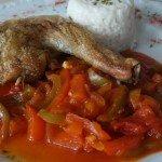 Ratatouille et poulet