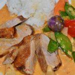 Aiguillettes de canard et ses légumes fondants au cookéo
