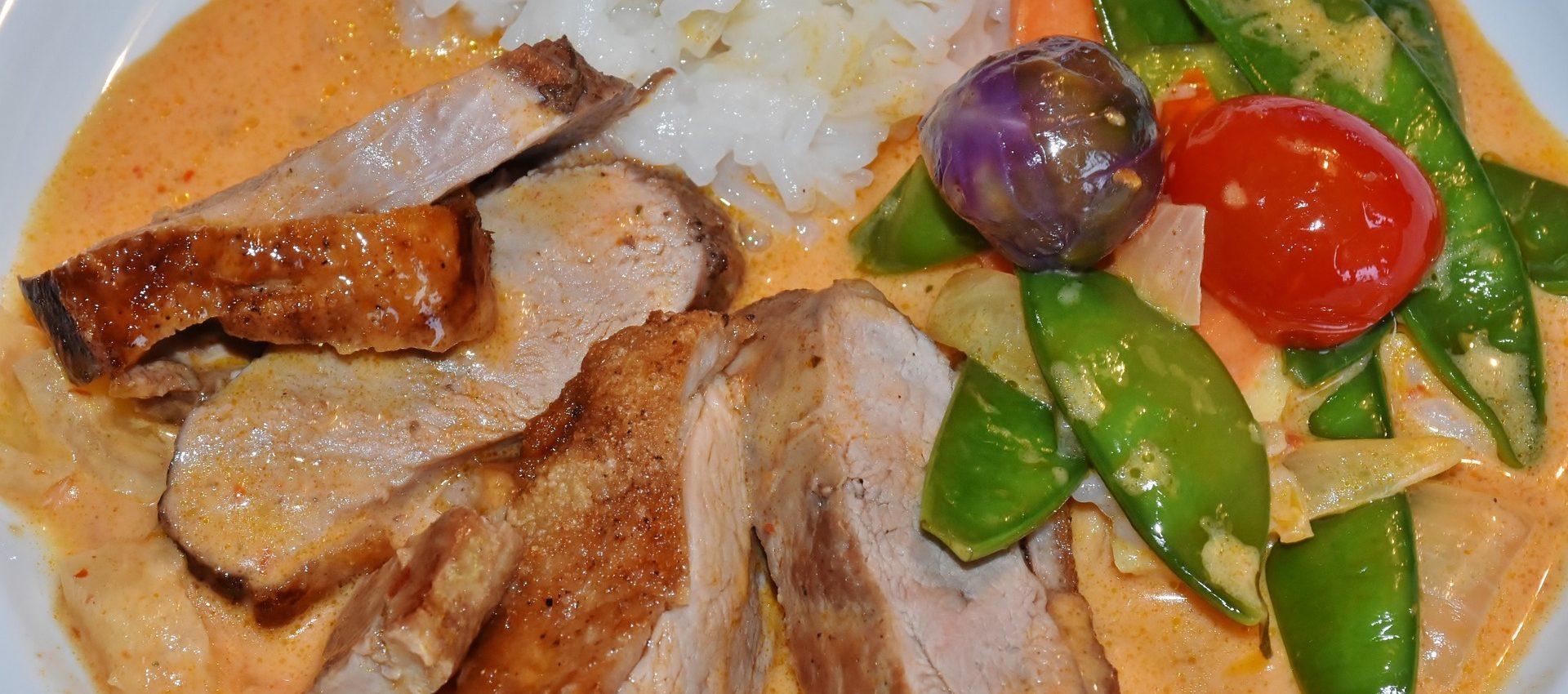 Aiguillettes de canard et ses légumes fondants au cookeo