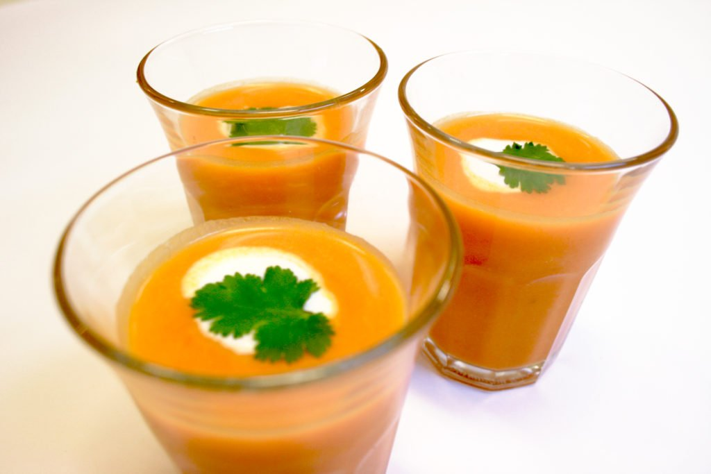 recette soupe froide de carotte l 39 orange et au cumin au cookeo cookeo mania. Black Bedroom Furniture Sets. Home Design Ideas