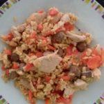 Sauté de dinde aux carottes et au blé WW