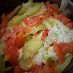 Tian de légumes et mozarella au multicuiseur Moulinex