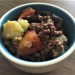 Viande hachée à la Méditerranée d'Elodie au multicuiseur cookéo