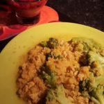Quinoa, lentilles brocolis aux épices d'Angélique