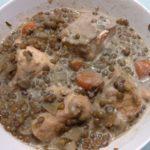 Lentilles au saumon Ww au multicuiseur Moulinex