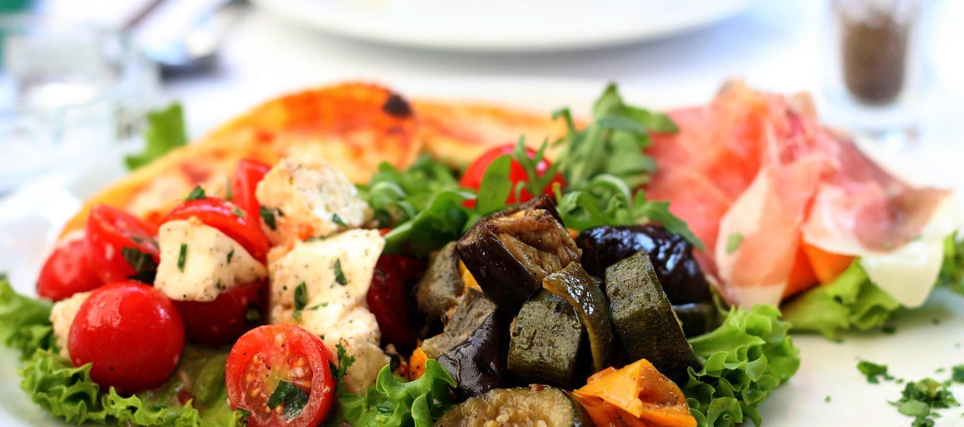 Salade aubergine miel chèvre au cookeo