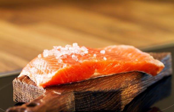 Truite saumonée au cookeo