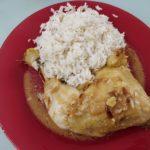 Cuisse de poulet sauce à la moutarde au cookeo
