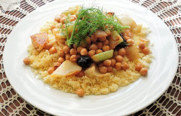 couscous rapide sans viande au cookeo