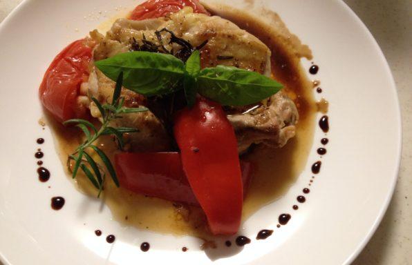 Poulet balsamique au cookeo