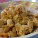 Poulet abricots secs au cookeo