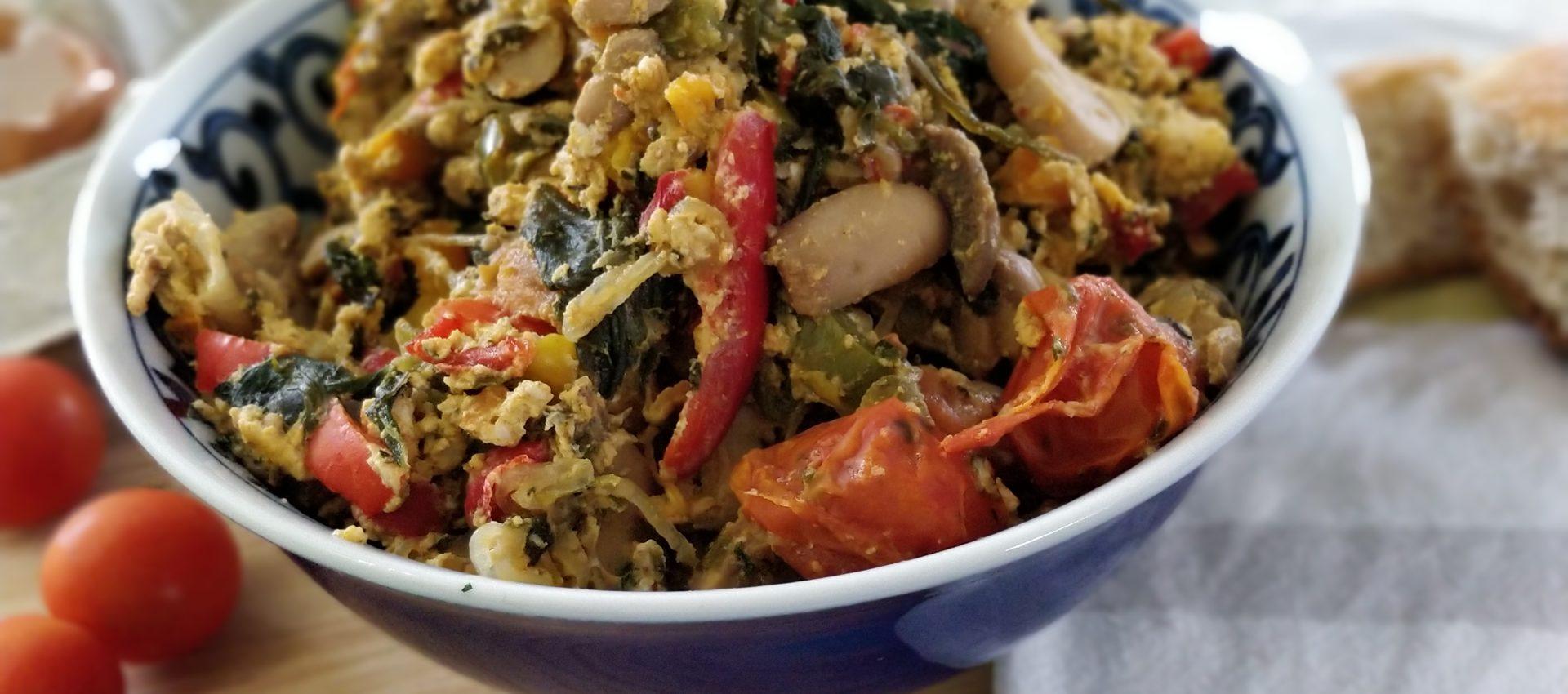 Légumes façon chakchouka au cookeo