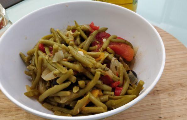 Haricots verts à la Provençale au cookeo