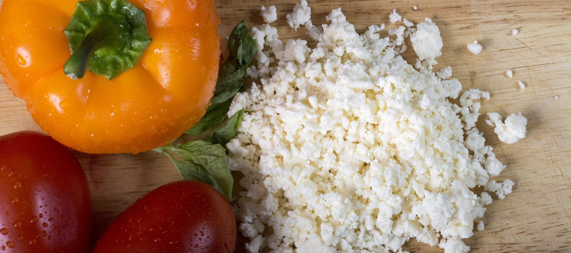 Poivron, tomate et feta au cookeo