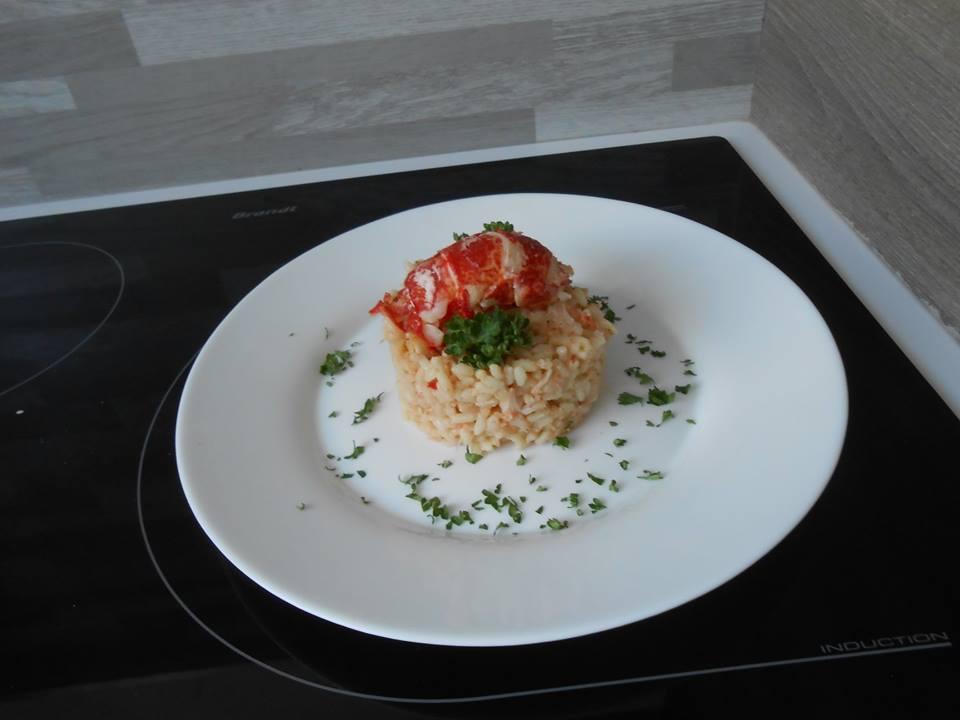 Risotto de homard au cookeo