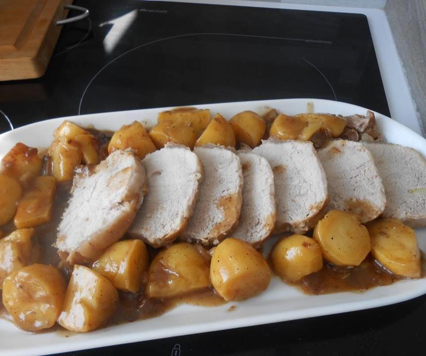 Recette Cookeo Roti De Porc Et Pommes De Terre Au Cookeo Cookeo
