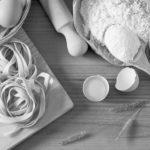 Pâtes blettes et jambon de parme