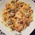 One Pot Pasta dinde et champignons