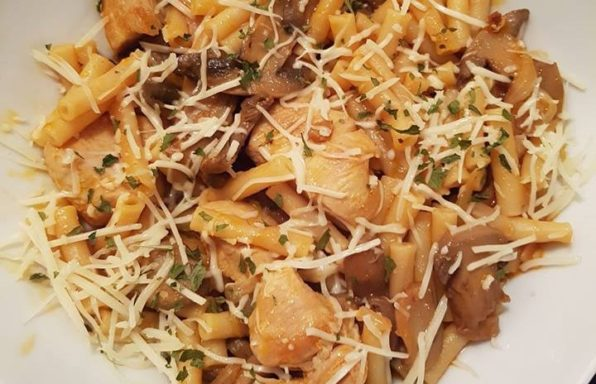 One Pot Pasta dinde et champignons au cookeo