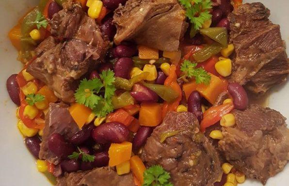 Joue de Boeuf à la Mexicaine au cookeo