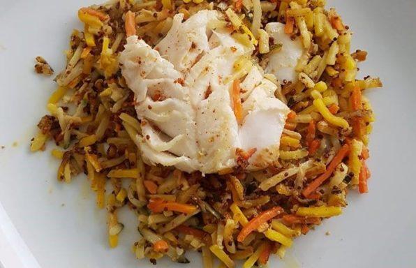 Cabillaud julienne de légume aua cookeo La cuisine de Bibi