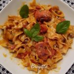 One pot Pasta champignon knacki au cookeo La cuisine de Bibi