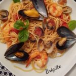 One pot pasta fruits de mer au cookeo La cuisine de Bibi