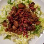 Salade de chataignes grillées et lardons au cookeo La cuisine de Bibi