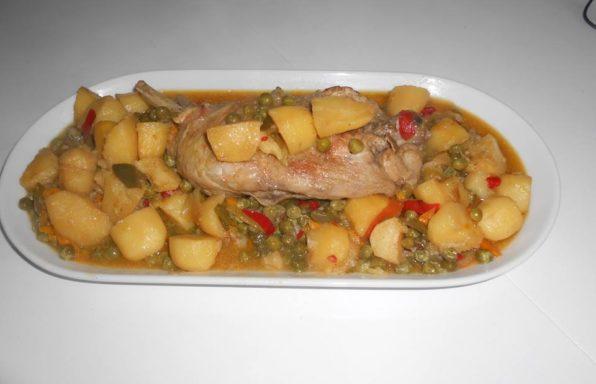 cuisses de dinde aux légumes au cookeo