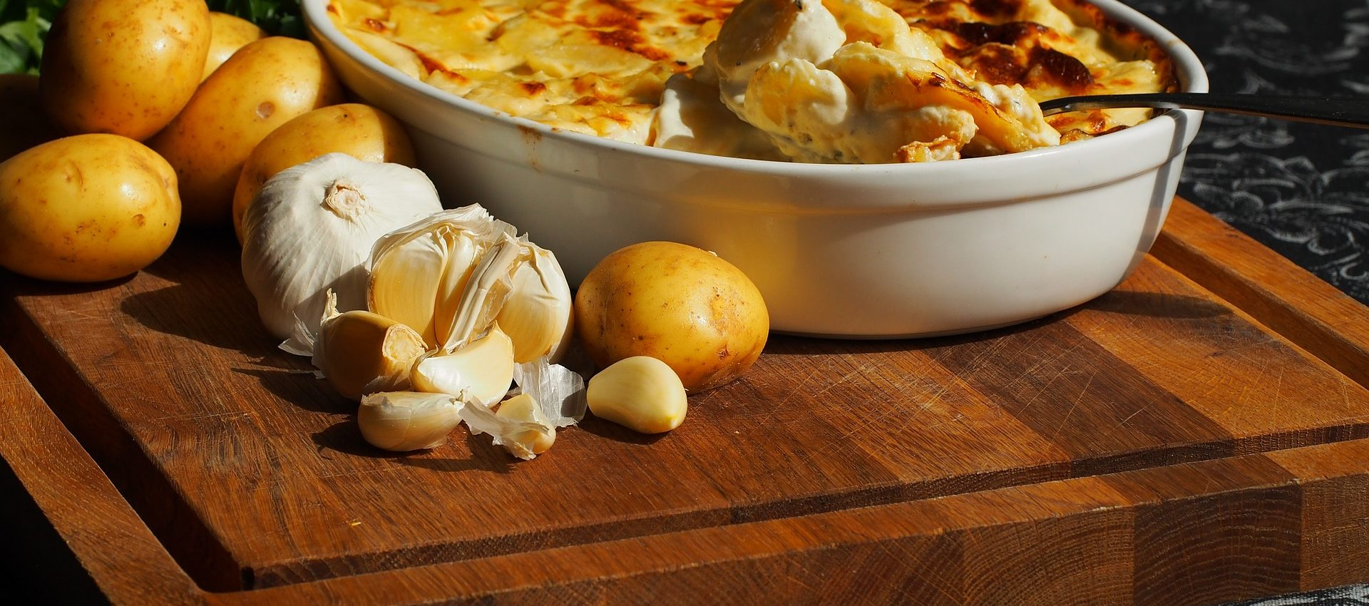 Gratin dauphinois simple au cookeo
