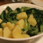 Pommes de terre aux blettes