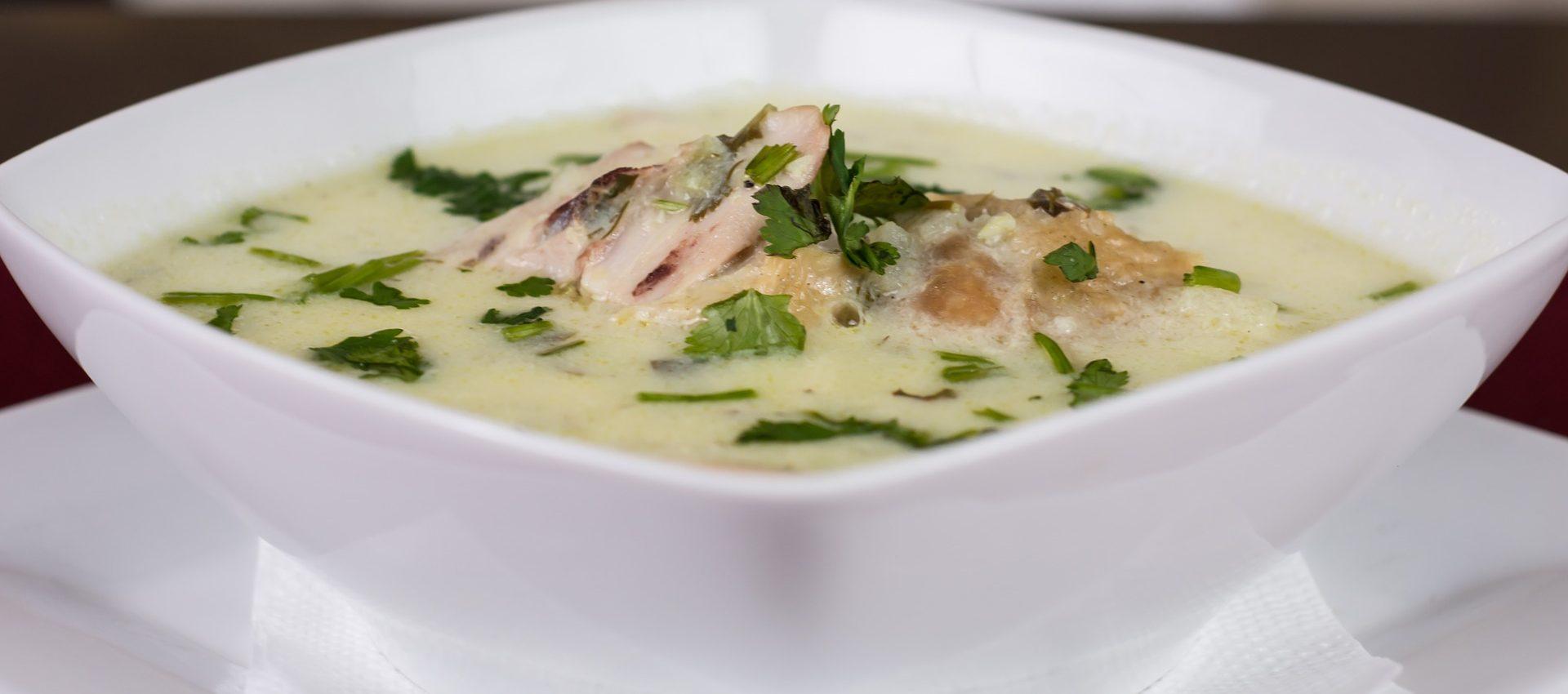 Bouillon de poulet à l'estragon au cookeo