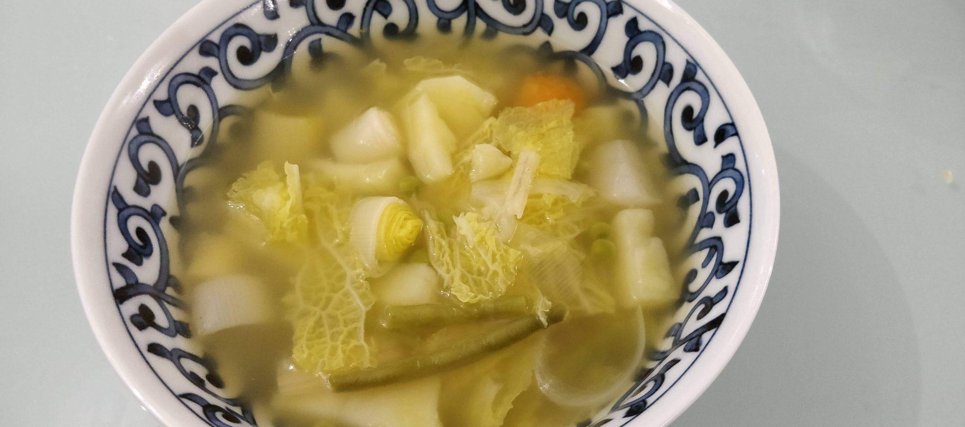 Potage de légumes au cookeo