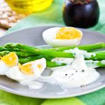 Asperges au fromage blanc ww au cookeo