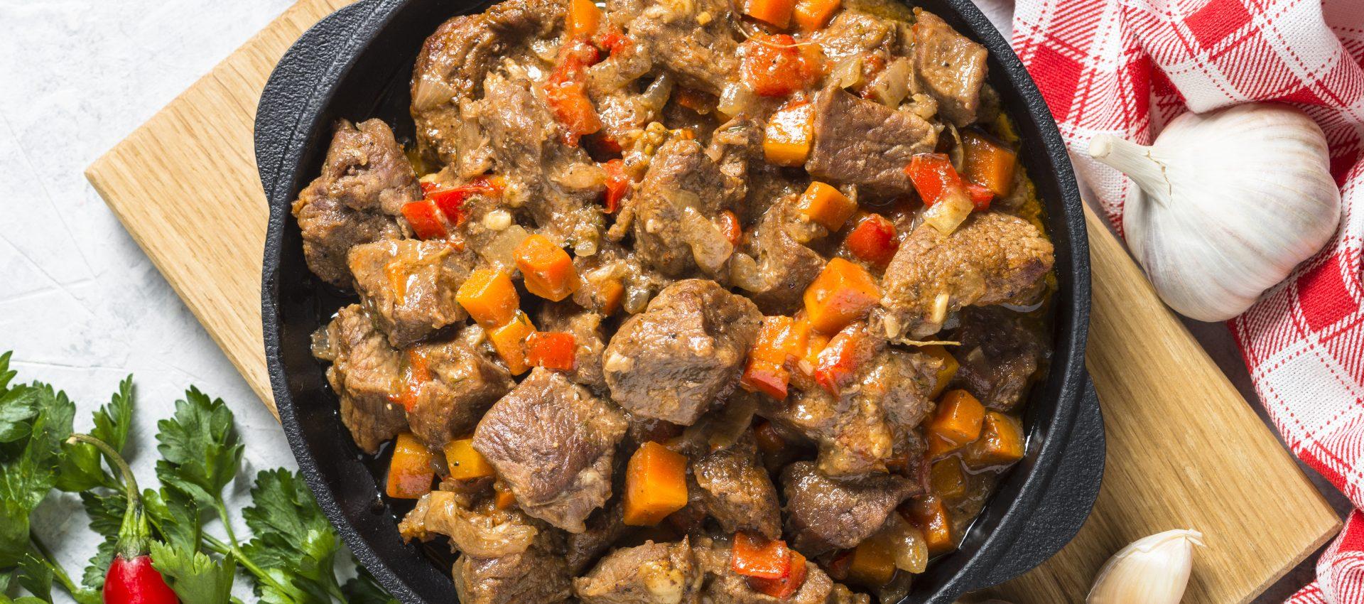 Ragoût de bœuf aux petits légumes au cookeo