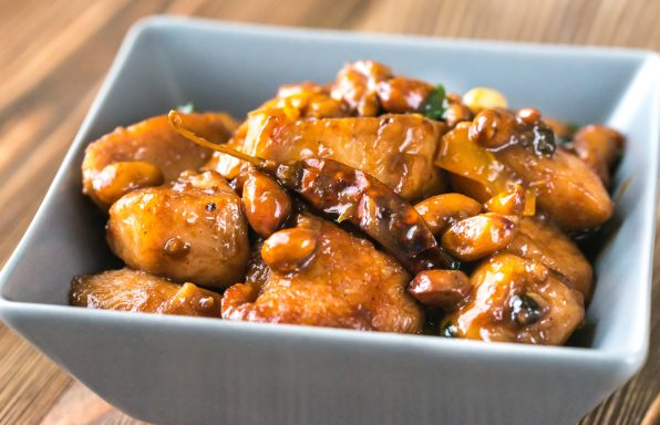 poulet Kung Pao au cookeo