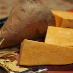 Patates douce au gingembre