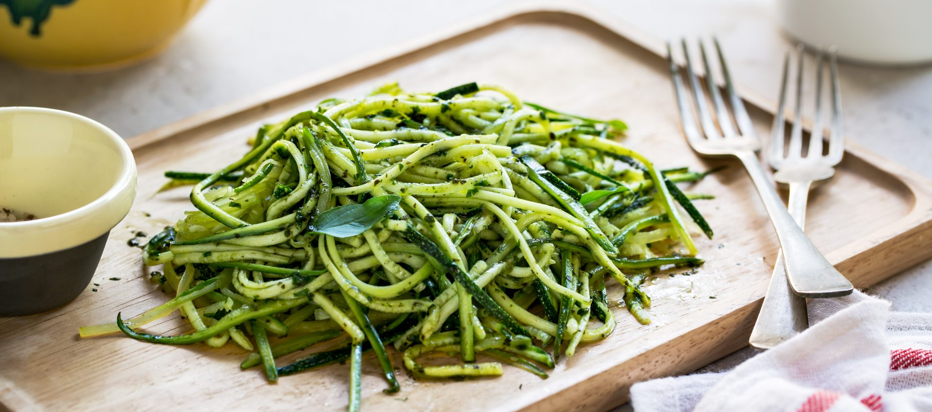 Courgettes au pesto au cookeo