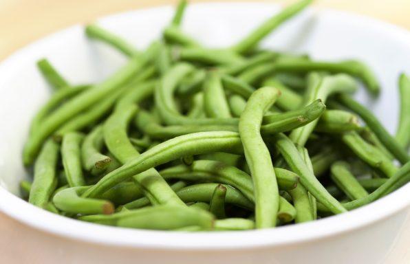 Salade d' haricot verts et thon à la moutarde au cookeo