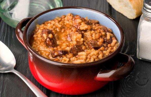 Lentilles chorizo au cookeo